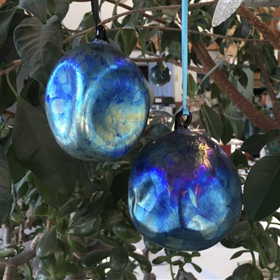 Blue Plasma Ornament