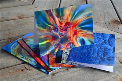 Simpson Glass Note Cards