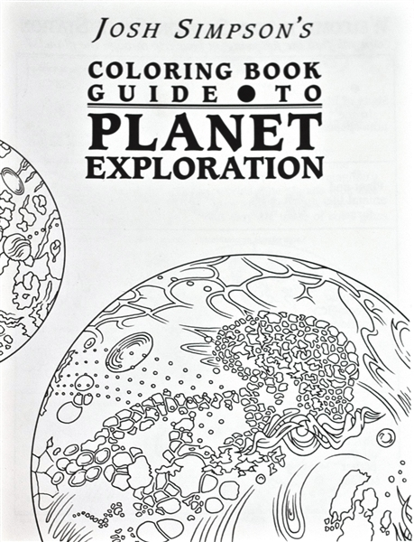 Josh Simpson's Coloring Book Guide