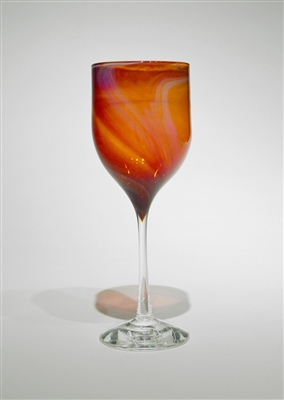 Single Corona Swirl Goblet