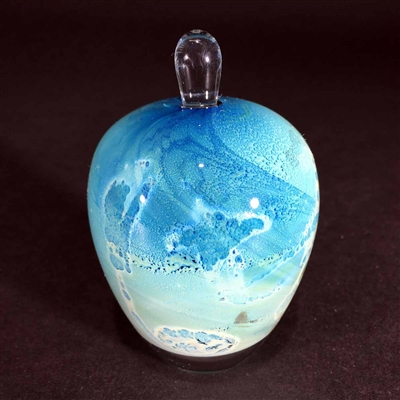 Blue New Mexico Perfume Bottle