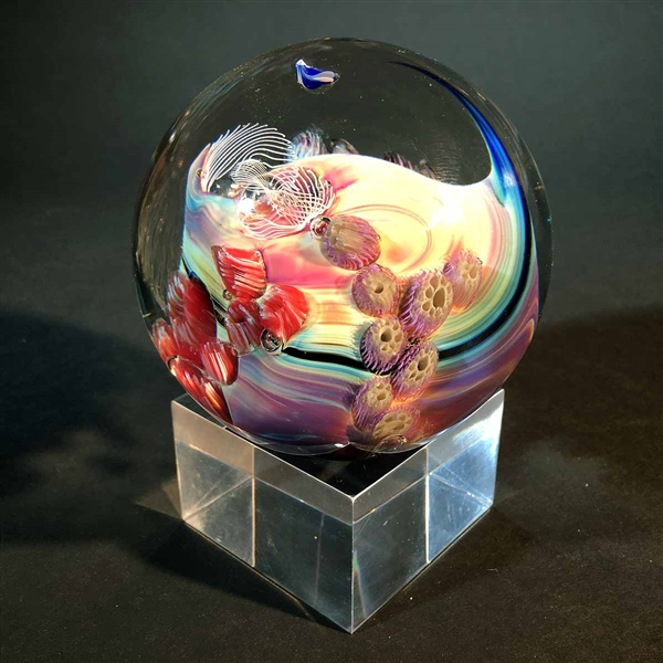 "3.5"" Paperweight Acrylic Stand"