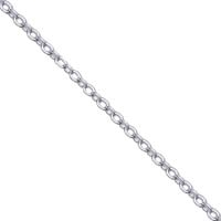 Silver Small Cable Necklace