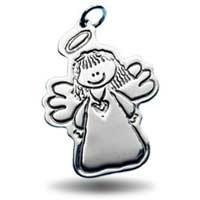 X-Large Outline Charm - Angel