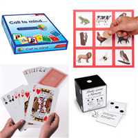 Board Games & Fun Games 4 Game Package