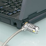 Laptop, desktop and monitor security cables and locks