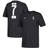 Adidas Men's CR7 Ronaldo Juventus T-Shirt (Black/White)