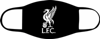 Liverpool Adjustable 2-3 Ply Face Mask-Adult-2 PACK