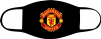 Man United Adjustable 2-3 Ply Face Mask-Adult-2 PACK
