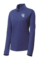 Womens Stretch 1/2 Zip Pullover