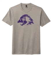 Chaska Hawks Soft Tri Blend Fashion Tee-ADULT