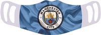 Man City Reusable & Washable Face Cover