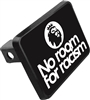 "No Room For Racism Trailer Hitch Cover (2"" Post)"