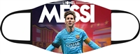 Messi Adjustable 2-3 Ply Face Mask-KIDS-2 PACK