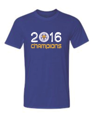 Leicester City Champions Tee 2016-ADULT