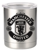 Manchester United 10oz Stainless Steal Lowball