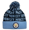Manchester City F.C. Cuff Pom Beanie - YOUTH