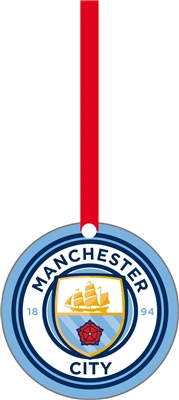 Manchester City Christmas Ornament