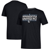 Minnesota United FC Black Dassler T-Shirt-ADULT