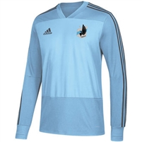 Minnesota United FC Adidas Long Sleeve Training Jersey 2018-ADULT