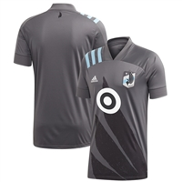 2020 Minnesota United FC Adidas Gray Wing Replica Jersey-ADULT - AL