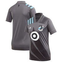 2020 Minnesota United FC Adidas Gray Wing Replica Jersey-WOMENS - WL