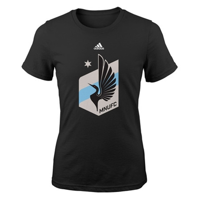 Minnesota United FC Adidas Primary Logo Tee-GIRLS