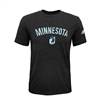 Minnesota United FC Black Heathered MLS T-Shirt-ADULT