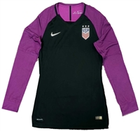 USA Women's Nike Aeroswift Player Top-Black/Purple