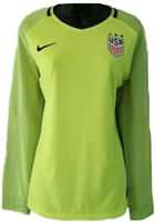 USA Women's Nike Aeroswift Top-Green