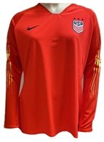 USA Women's Nike Gardien II Top-Orange