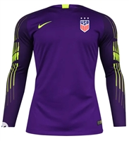 USA Women's Nike Gardien II Top-Purple