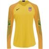 USA Women's Nike Gardien II Top-Yellow/Gold