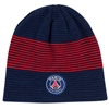 Paris St. Germain Striped Beanie