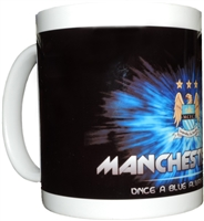 Man CIty Soccer 11oz Mug