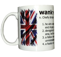 British Wanker 11oz Mug