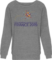 2019 WC FIFA France Juniors Raglan Sweatshirt BOGO