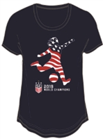 USA World Cup Champions 2019 Star Power Tee-Women's