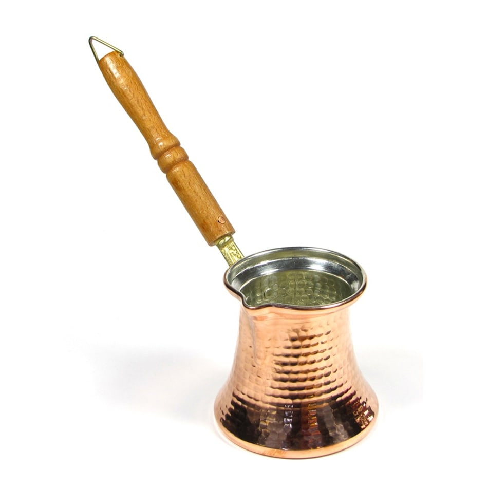 Solid Copper Turkish Coffee Pot