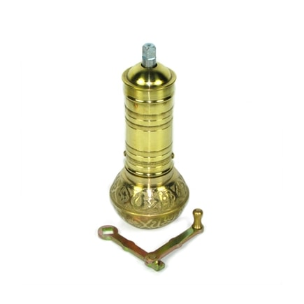 Turkish coffee grinder with ball base