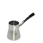 Stainless Steel Turkish Coffee Pot with Handle - 12 oz