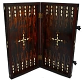 Backgammon Set with Mother of Pearl - I