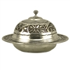 Turkish Delight Serving Dish - Engraved Nickelized