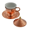 Turkish Coffee Cup with tapered bottom - Copper
