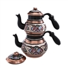 Decorated Turkish Tea Pot