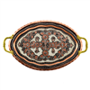 Erzincan Design Serving Tray - Oval