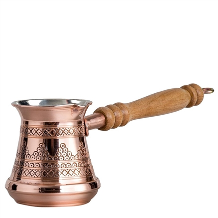 Mardin Turkish Coffee Pot with Grapes