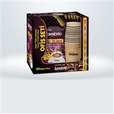 Turkcafe Instant Turkish coffee - Office Set (without any sugar)