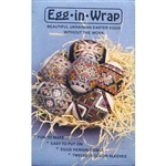 Egg-In-Wrap, Series I - Ukrainian Design Egg Sleeves - Set of 12