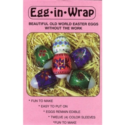 Egg-In-Wrap, Series II - Polish Design Egg Sleeves - Set of 12